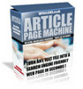 Thumbnail Article Page Machine With PLR