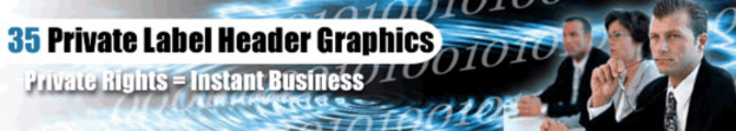 Thumbnail 35 Private Label Professional Header Graphics With PLR